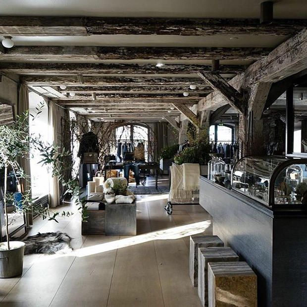 Club Monaco's pop-up inside Noma, Copenhagen. Image courtesy of Club Monaco