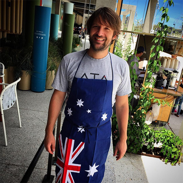 René Redzepi at Noma Australia. Image courtesy of Nip of Courage's Instagram
