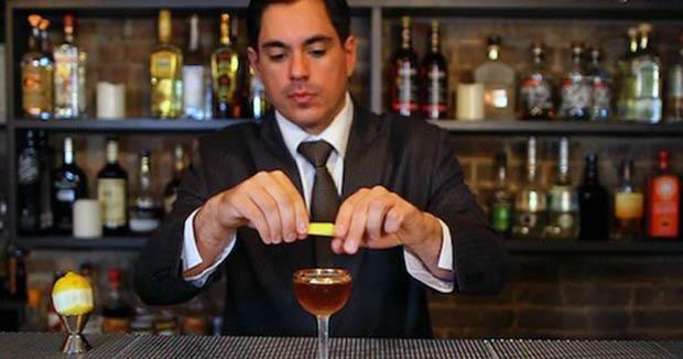 Barman and Regarding Cocktails author Sasha Petraske
