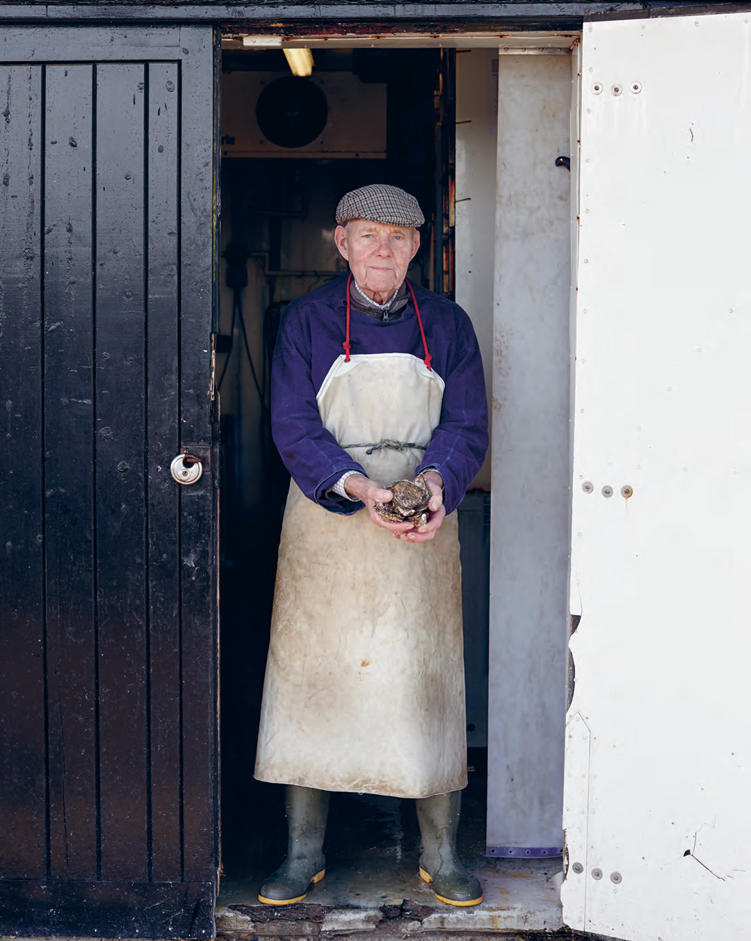A local oyster producer, as featured in The Sportsman. All photographs by Toby Glanville