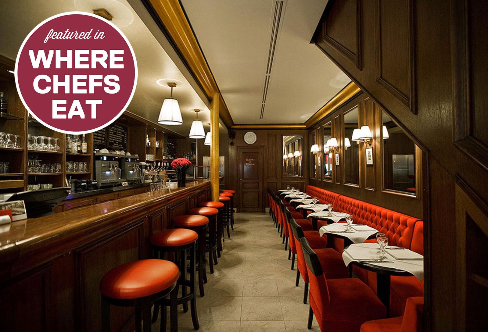 Le Castiglione - recommended in Where Chefs Eat
