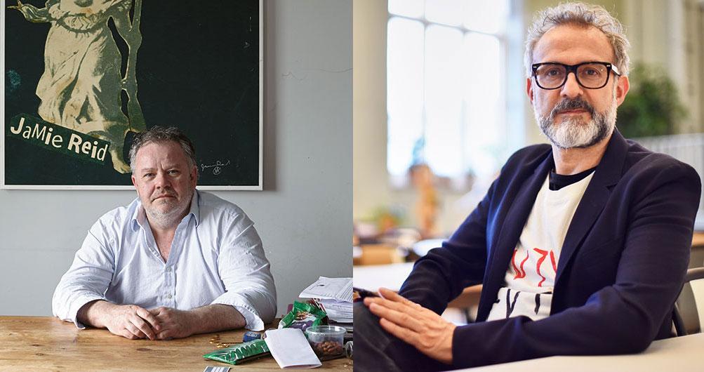 Stephen Harris and Massimo Bottura