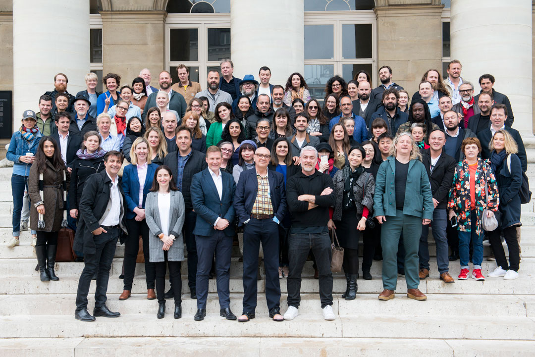 Members of the star-studded judging panel gather in Paris to announce the launch of The World Restaurant Awards (PRNewsfoto/IMG and World Restaurant Awards)