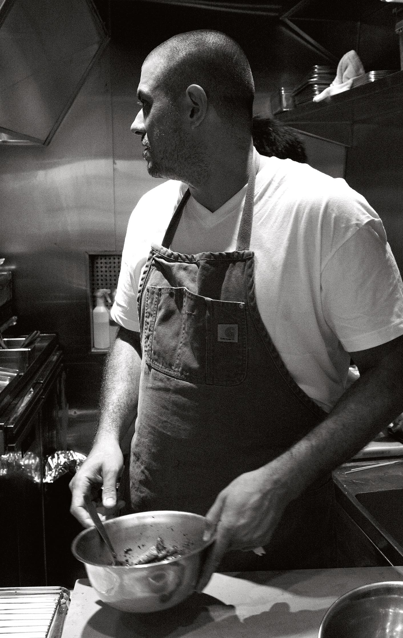 Chef Matt Abergel, from Chicken and Charcoal: Yakitori, Yardbird, Hong Kong
