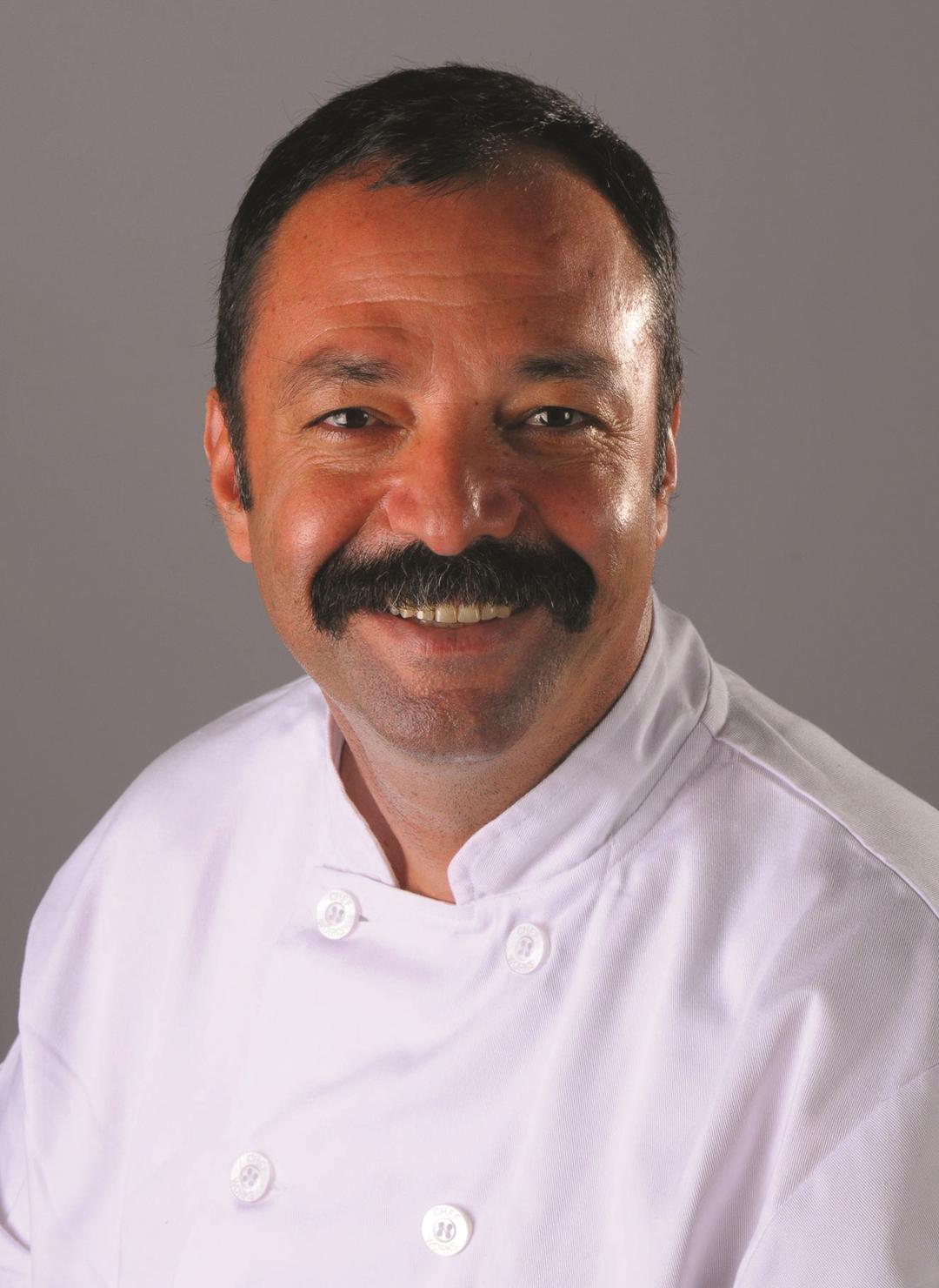Musa Dağdeviren, author of the Turkish Cookbook