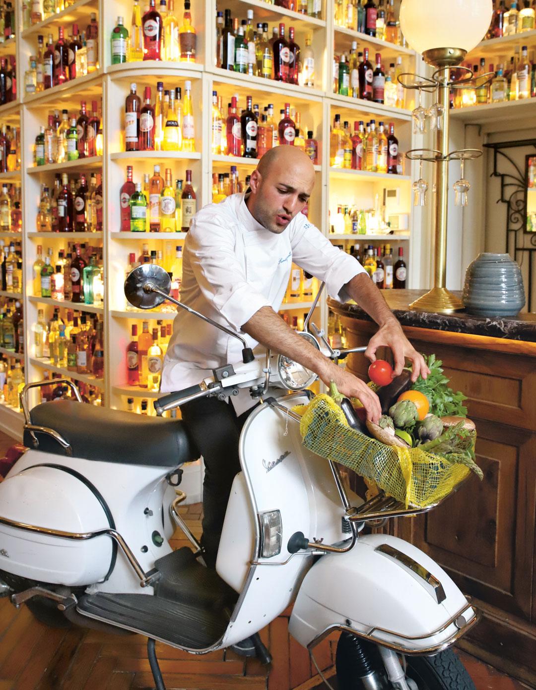 Chef Raffaele Santopaolo, from Big Mamma Cucina Popolare