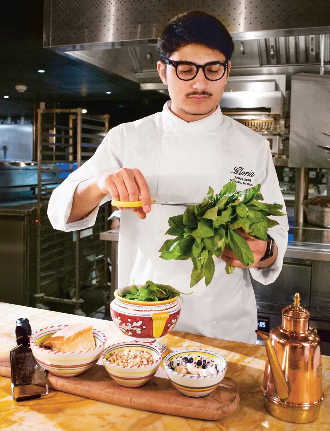 Big Mamma chef Andrea Zambrano