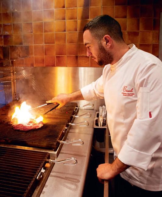Giuseppe d'Ambrosio turns up the heat in Big Mamma Cucina Popolare