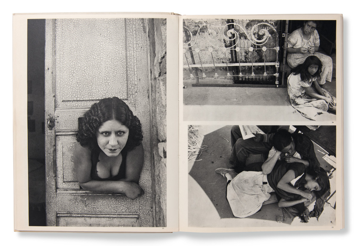 A spread from Henri Cartier-Bresson's The Decisive Moment, as reproduced in Magnum Photobook: The Catalogue Raisonné