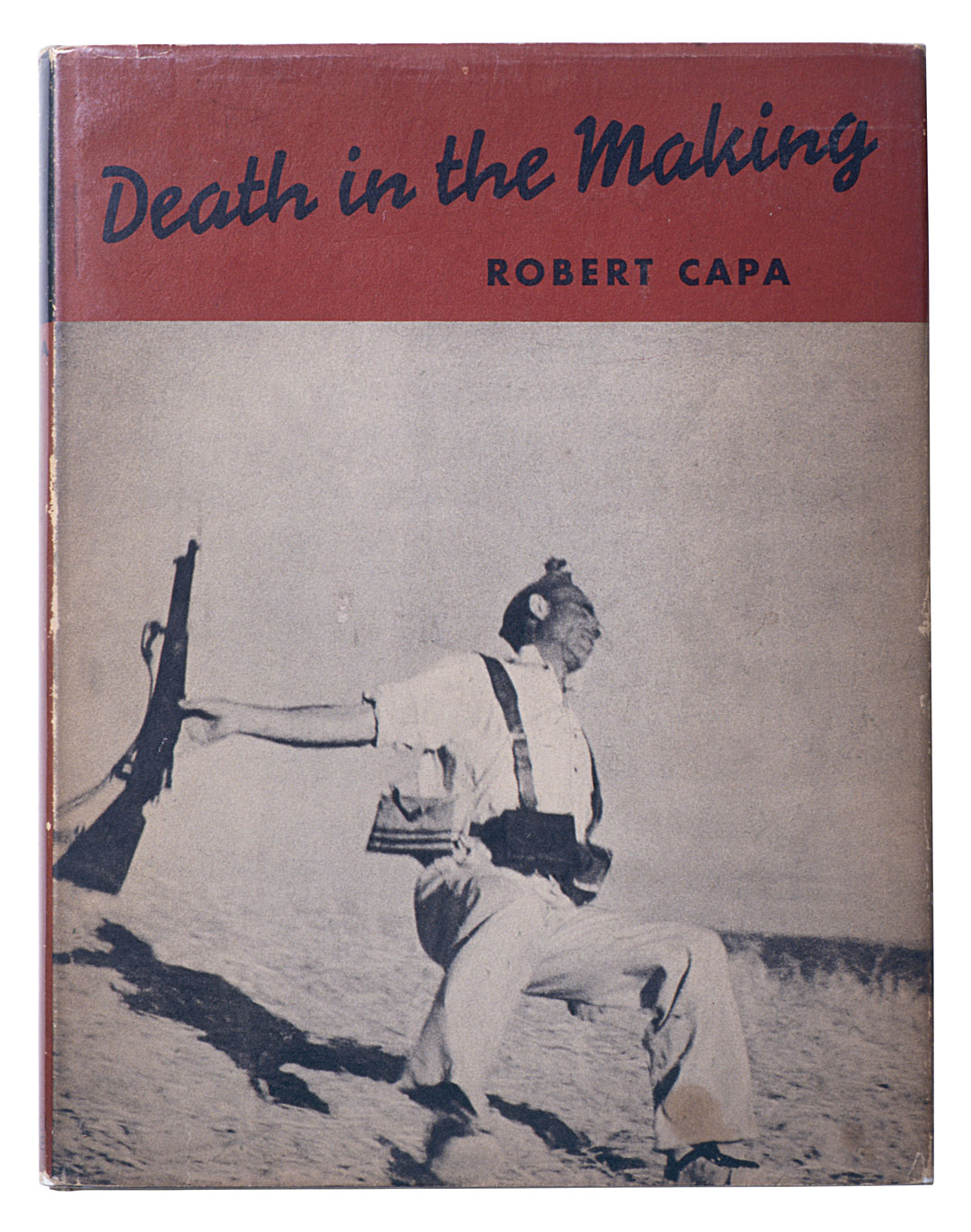 Robert Capa, Death in the Making, published by Covici-Friede, New York, 1938. As featured in Magnum Photobook: The Catalogue Raisonné