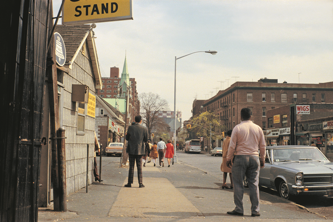 Queens, New York, April 1972. © Stephen Shore. Courtesy 303 Gallery, New York