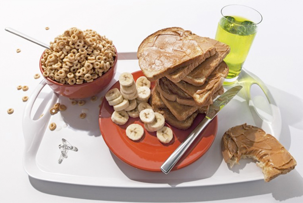 World class snowboarder and halfpipe wizard Keir Dillon's pre-race meal: 